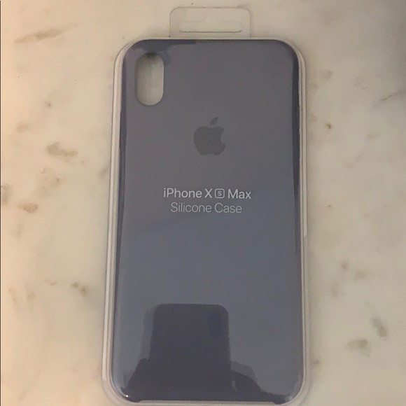 new style dc6c9 86d74 iPhone XS Max Silicone Case - Lavender Gray NWT